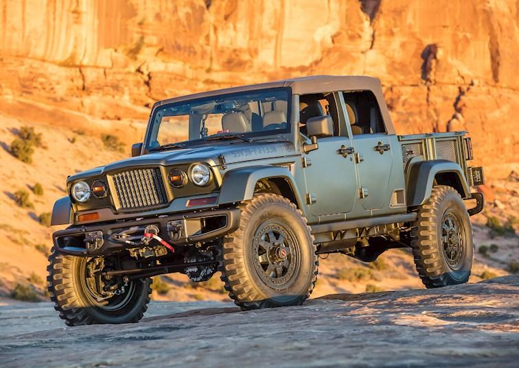 2016 Jeep Comanche Concept Video Drivingline