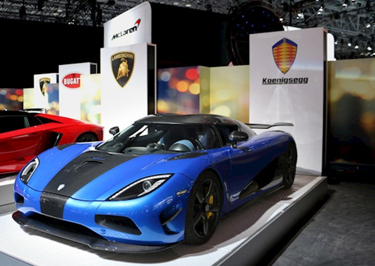 New York Auto Show 2015: It's Good To Be Rich