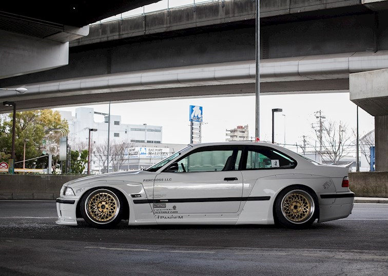 World Wide Pandemonium: Rocket Bunny BMW E36