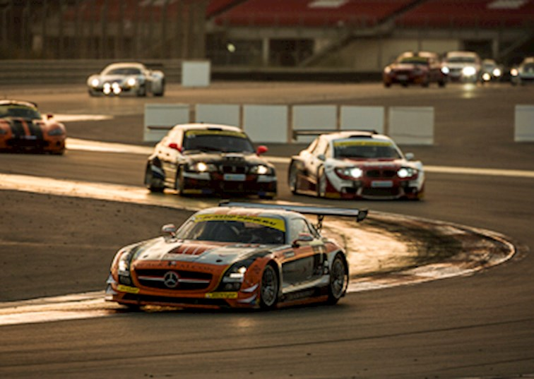 Twice Round the Clock with the Mercedes-Benz SLS AMG GT3