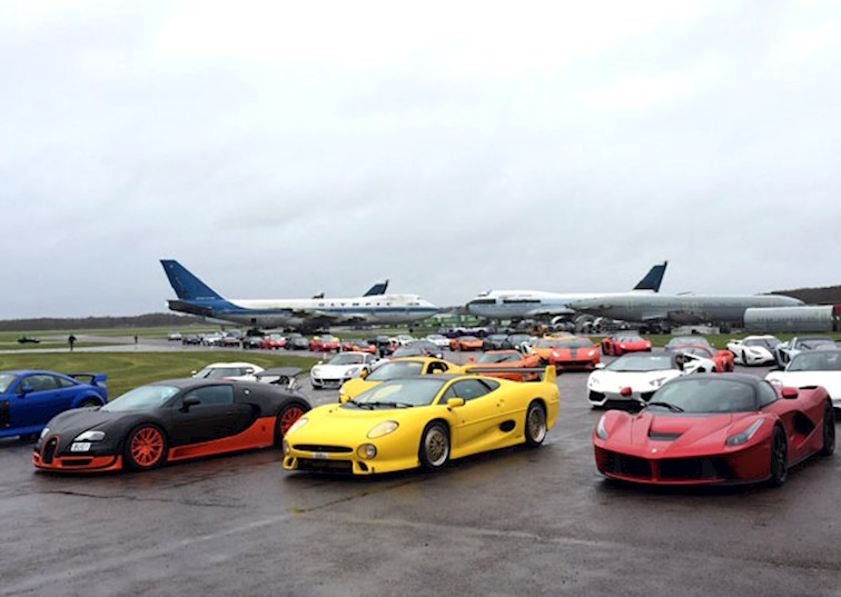 A Supercar Gathering Full of Mad Dogs and Englishmen