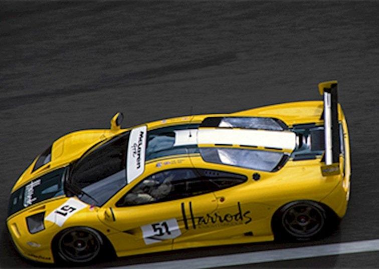 The Harrods McLaren Goes to Goodwood