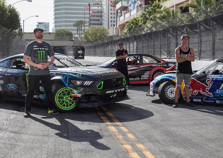 2016 Formula Drift Long Beach Media Day