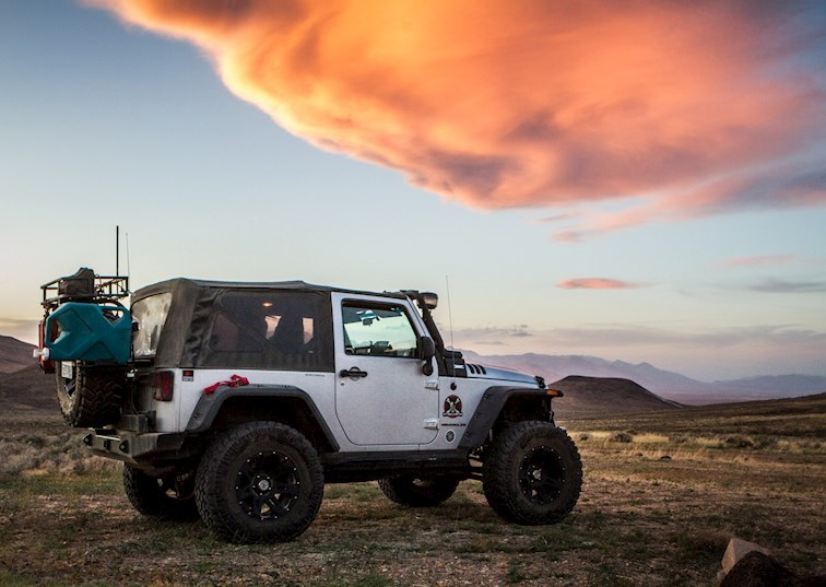 Counting Jeeps On The Sheep Spring Trail