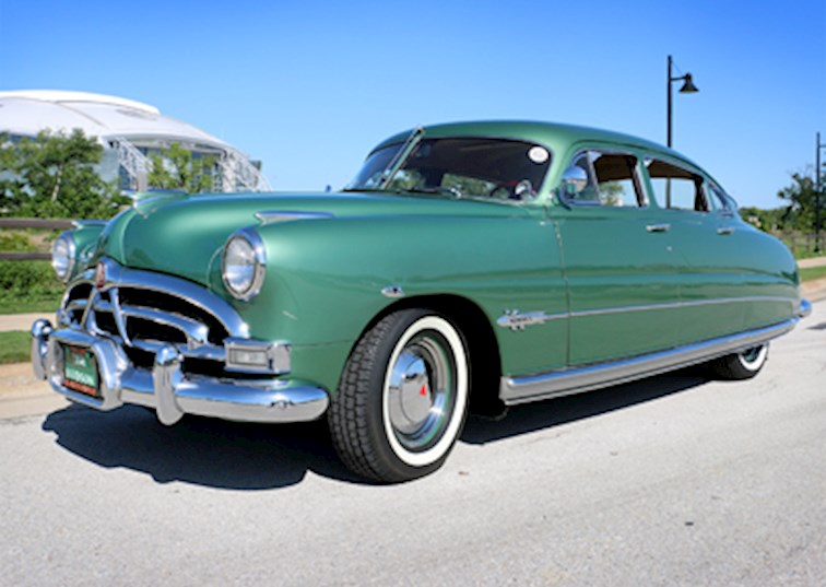 two wide 1951 hudson hornet green classic car aedtexas kcline feature