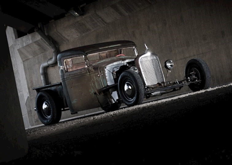 "Luck of the Draw: ""Sinister"" Rat Rod"