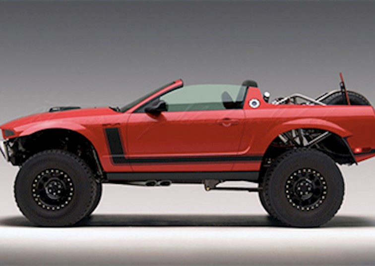 Ford Mustang Baja Concept: Redneck Raptor or Perfect Pony Car?