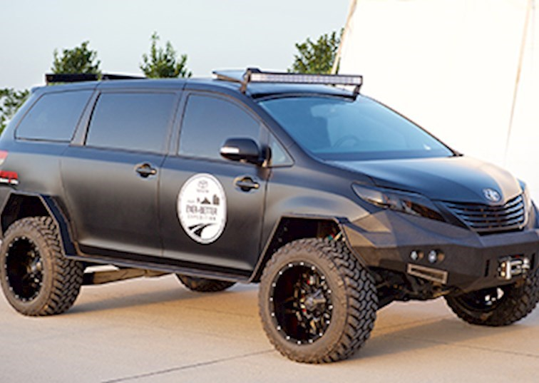 The Most Sinister Toyota Sienna On The Block