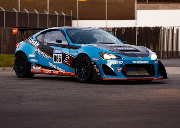 Mackin FR-S Ready for the Pikes Peak Hill Climb