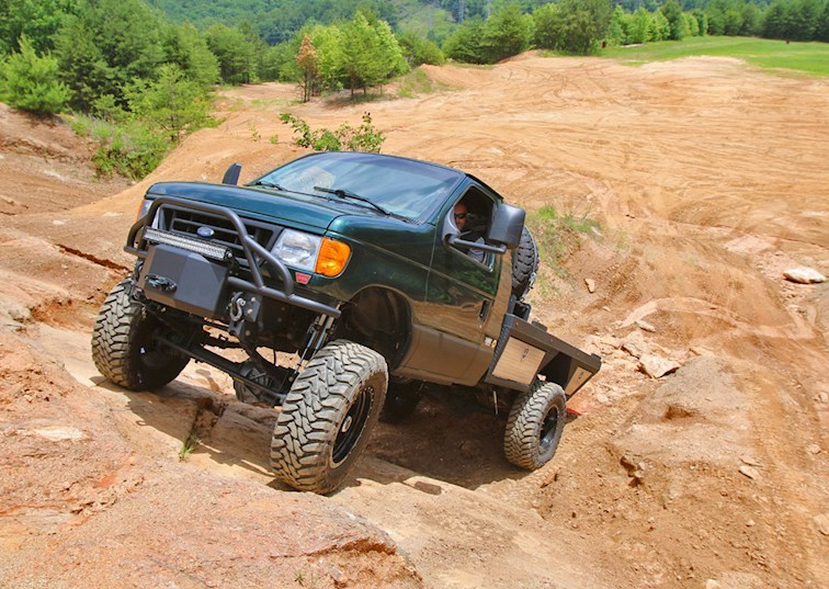 2002 Ford E-350 Flatbed 4x4: The Ultimate Do-All Van