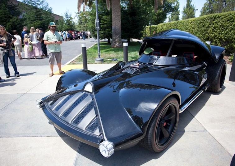 """KA-CHOW! The """"Cars"""" from the 2015 Pixar Motorama"""