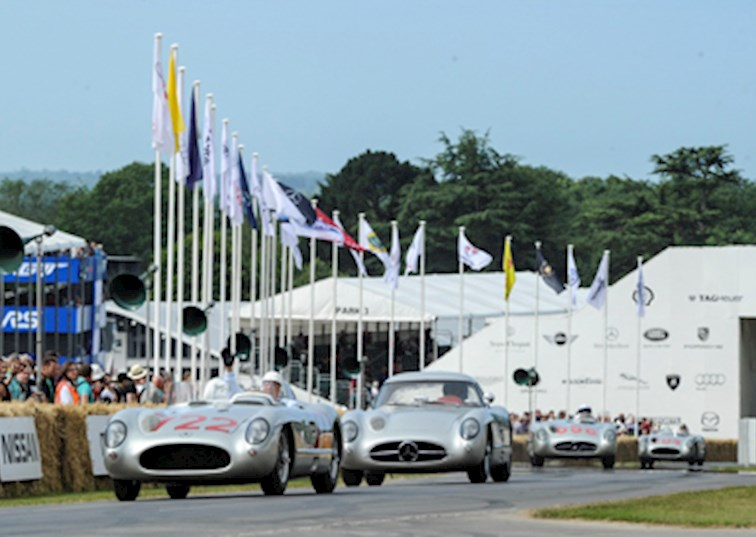Postcard from Sussex: Stars and Cars from Goodwood Festival of Speed