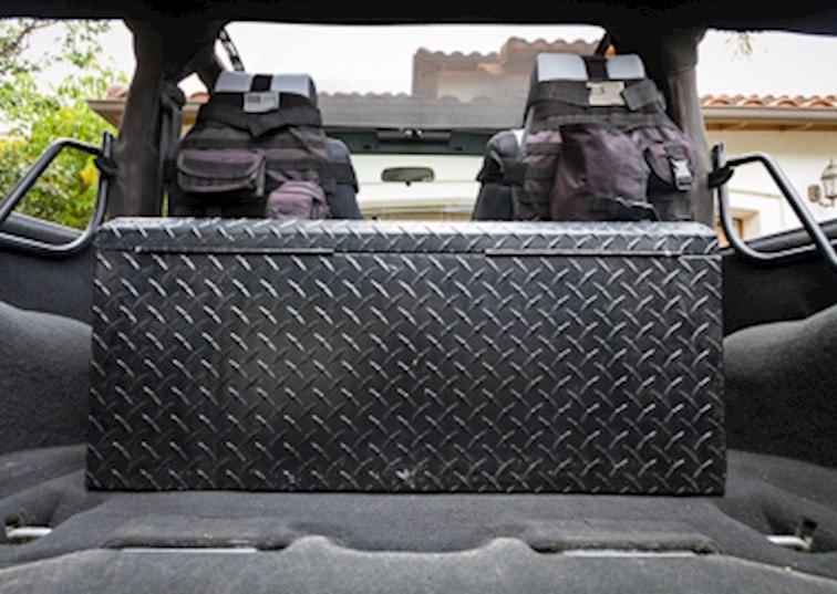 Custom Jeep Storage Solutions