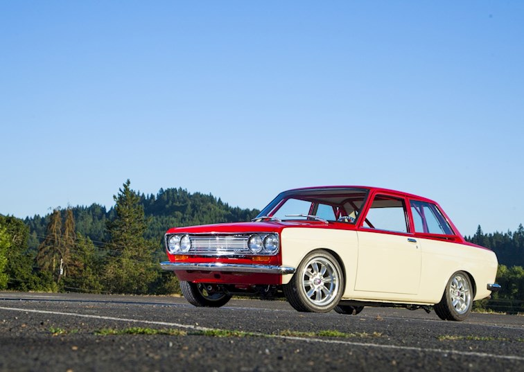 The Hot Rod Datsun 510 That Makes Purists Squirm