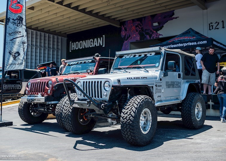 Currie Enterprises Invades The Hoonigan Shop