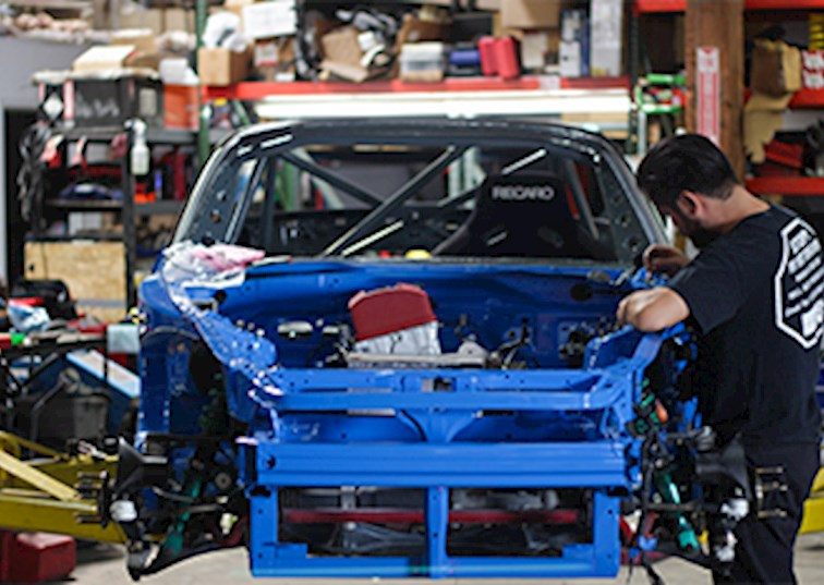 Evasive Motorsports Prepping Another Track Terror S2000