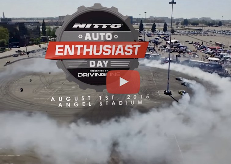 two wide drivingline nittotire autoenthusiastday 2015 video highlights