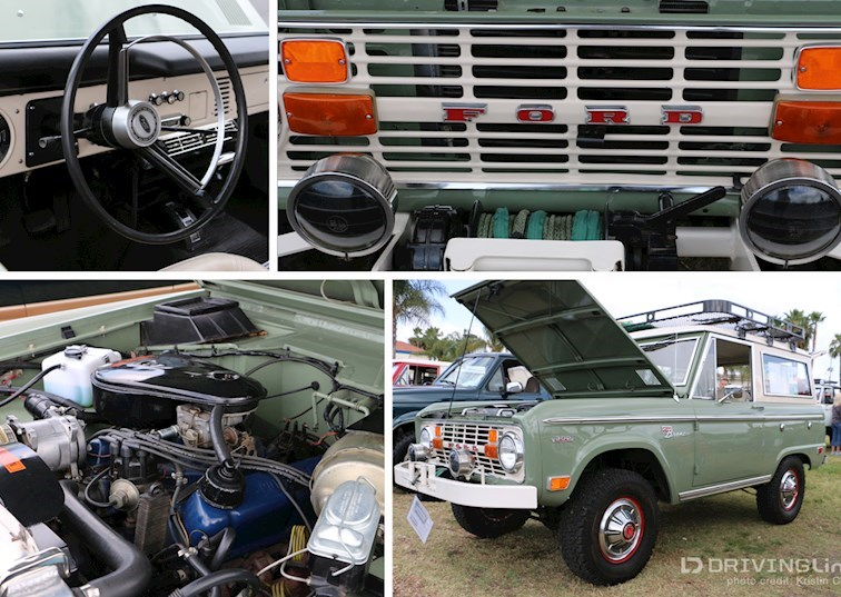 Ford Broncos at Fabulous Fords Forever