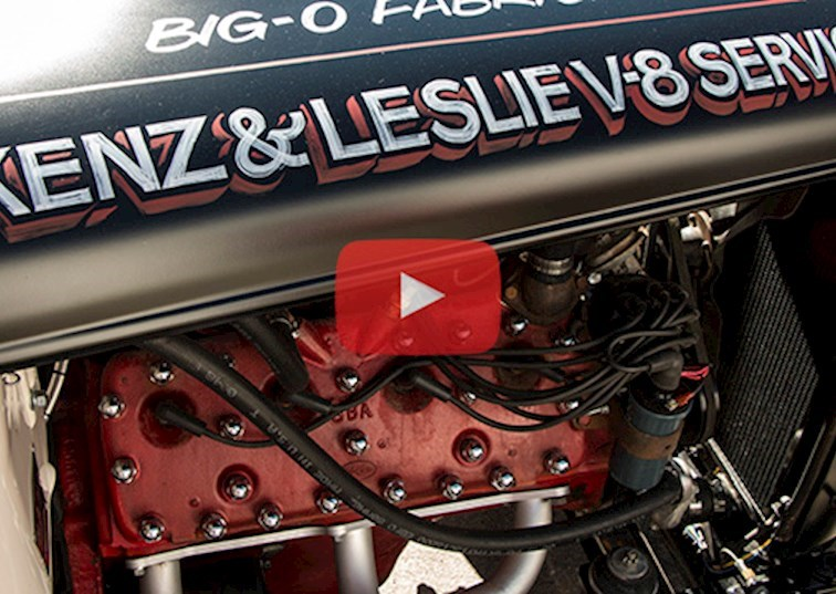 Peak Inside a Running Flathead Engine [VIDEO]