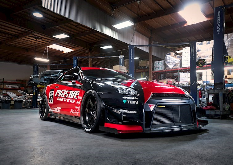 Evasive Motorsports' Perfect Nissan GT-R