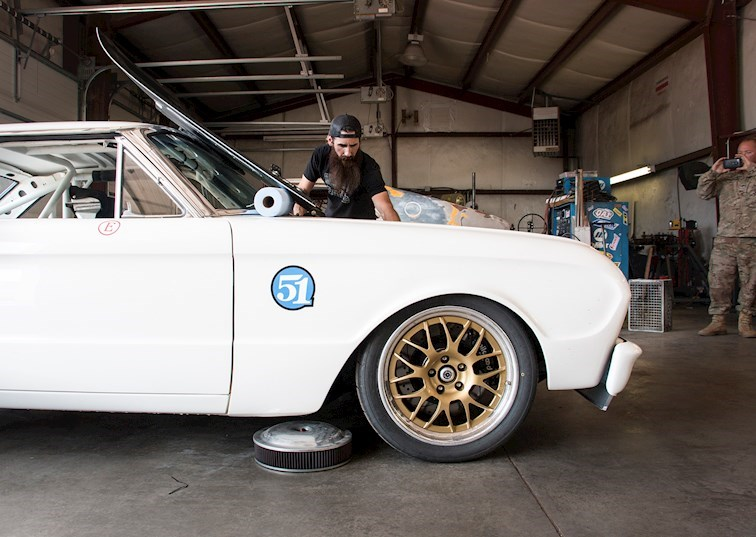Flight of the Falcon: Aaron Kaufman Takes on Pike's Peak in His 1963 Ford