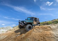 two wide 2000 jeep wrangler tj mud grapplers bds long arm