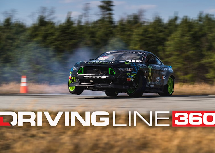 Drifting Abroad with Vaughn Gittin Jr. [360 Virtual Reality]