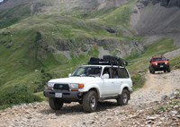 two wide 000 fj80 land fj cruiser overland camp bird baja rack sneffels fr853 yankee boy basin