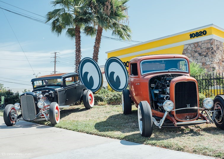 "Classics with a ""Kustom"" Twist at the Mooneyes Open House"