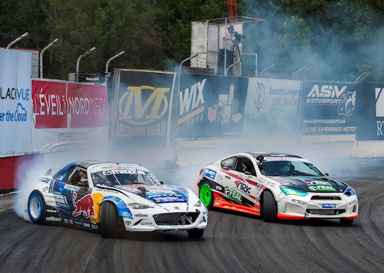 2016 Formula Drift Montreal Top 32 Play-by-Play