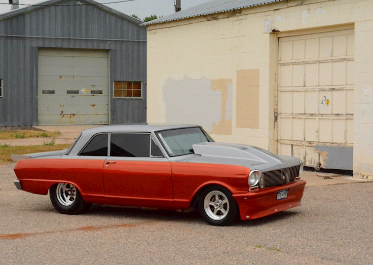 Classic Muscle Meets Modern Performance With This 1963 Chevy II