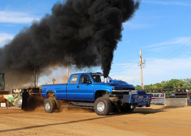 Truck Pulling: As American as Apple Pie