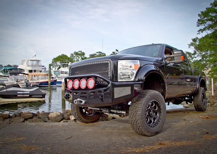 Fusion Bumpers Ford Super Duty Winch Bumper Review