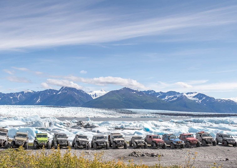Jeeps of JKX Alaska