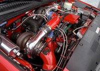two wide 011 lb7 duramax gt55 compound turbo system