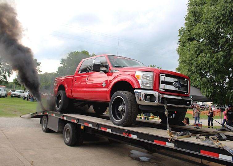 two wide 003 2011 ford f350 power stroke diesel dyno big horsepower