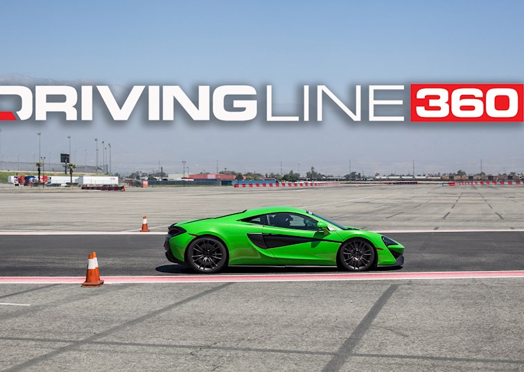 Porsche's King of Fast Has Some New Competition: McLaren [360 Virtual Reality]