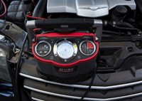 two wide optima battery charger digital feature