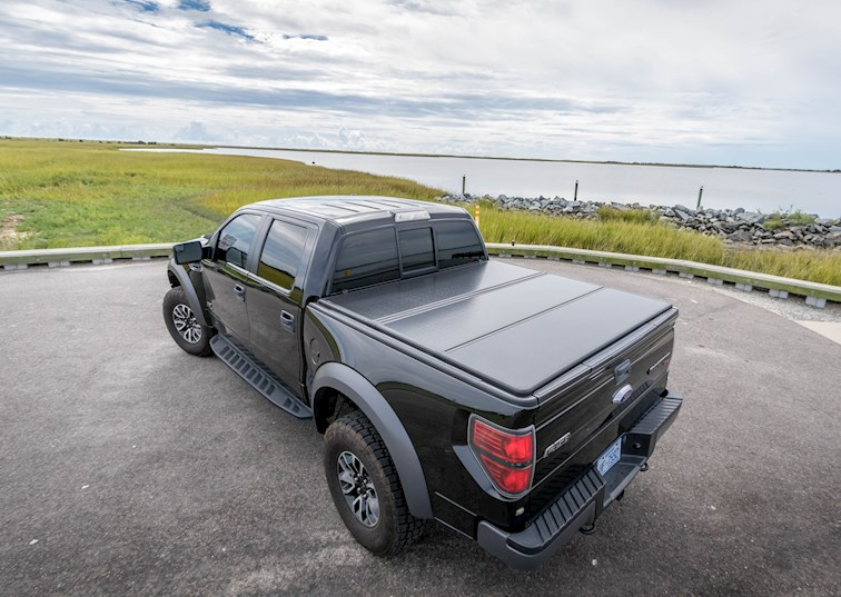 two wide 000 2012 ford f150 raptor bestop trifold hard cover