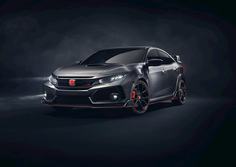two wide driving line civic type r prototype 01 b