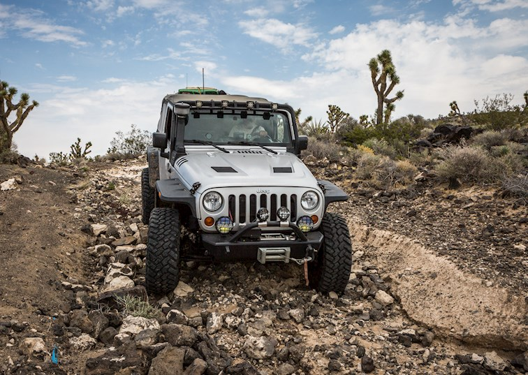 two wide jeep wrangler aiken mine trail feature