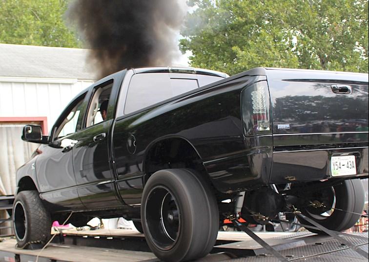 two wide cummins diesel dyno horsepower lead