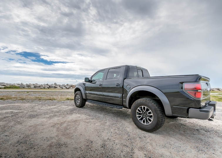 two wide 2012 ford f150 svt raptor black