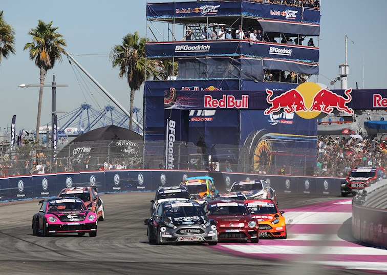 2016 Red Bull Global Rallycross Finale: Battle at the Port of Los Angeles