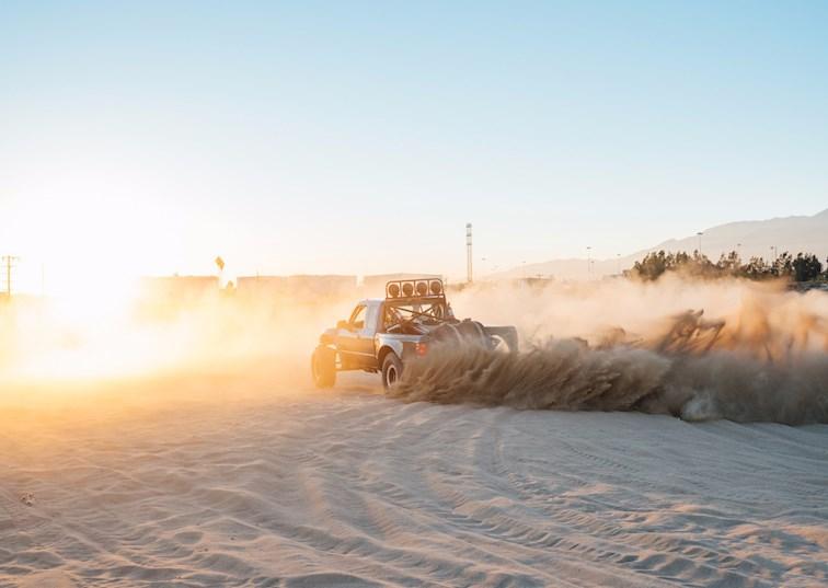 Jr's Desert-Dominating Ford Ranger Prerunner