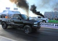 two wide 001 nhrda diesel world finals diesel drag race