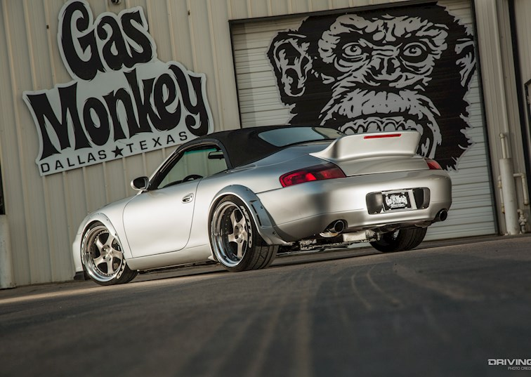 Gas Monkey Garage's LS-Swapped Porsche 996: Not Just a Redneck's Ride