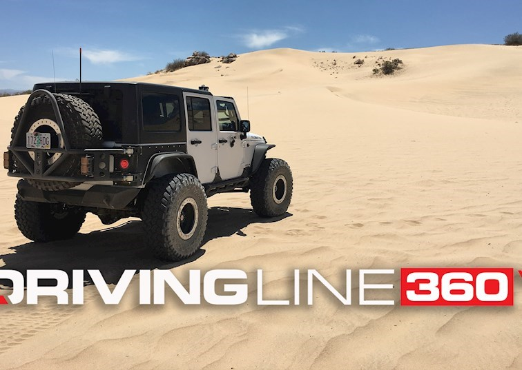 Hit Up the Dunes With Mel Wade [360 Virtual Reality]