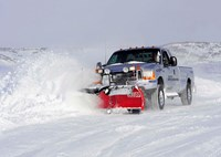 two wide 001 ford f250 snow plow