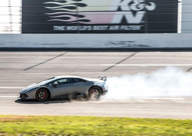 Making a Lamborghini Drift: Testing 1-2-WEEE!
